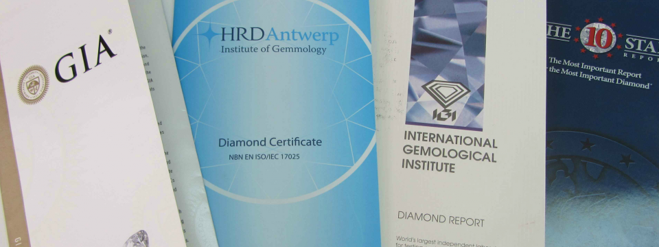Diamond Certificates