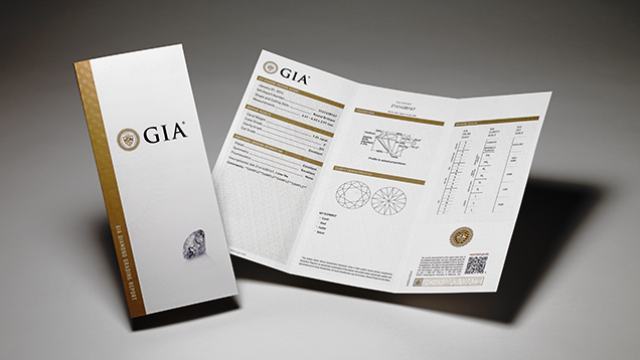 GIA certificate - diamonds as an investment