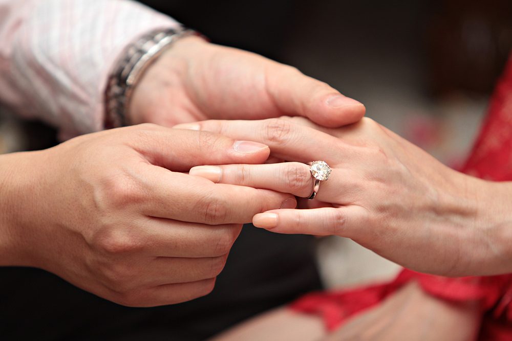 Your Diamond engagement ring